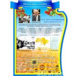 Стенд Независимая Украина фото государственной символики