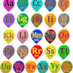Стенд Английская азбука A – Z – Алфавит изображения букв