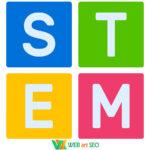 Інтер'єрні наклейки – Наліпка STEM на стіну