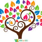 интерьерные наклейки – дерево хорошего настроения на стену