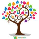Наклейка НУШ – дерево хорошего настроения – дизайн