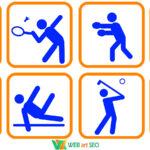 Наклейки спорт – оформление спортзала