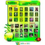 Наліпка червона книга України 2