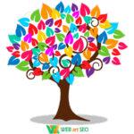 Наклейка дерево позитивного настроения