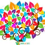 Наклейки для оформленння дизайна 1 класса – деревов позитивного настроения